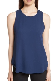 Theory Silk Blue Top - Product Mini Image