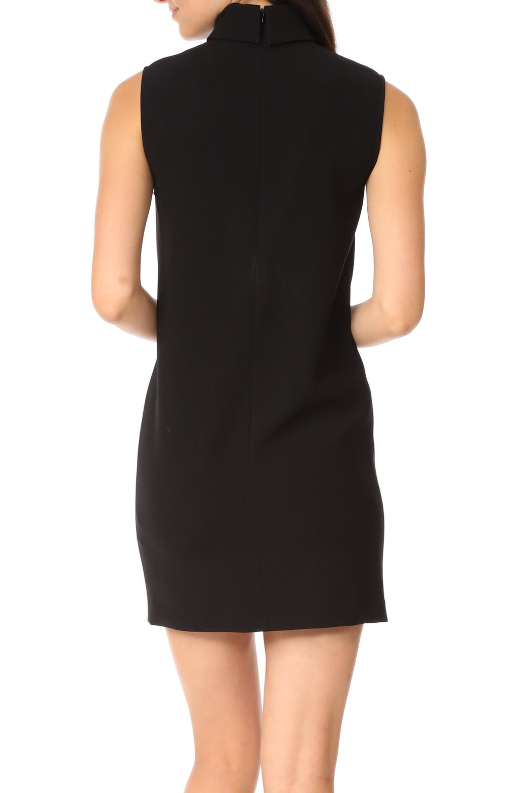Theory Slit Collar Dress - Front Full Image