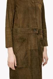 Theory Suede Belted Coat - Other