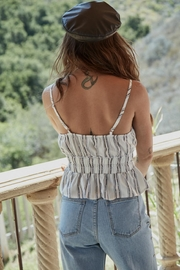 SAGE THE LABEL Theory Tank - Front full body