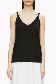 Theory Twisted Strap Tank Top - Front cropped