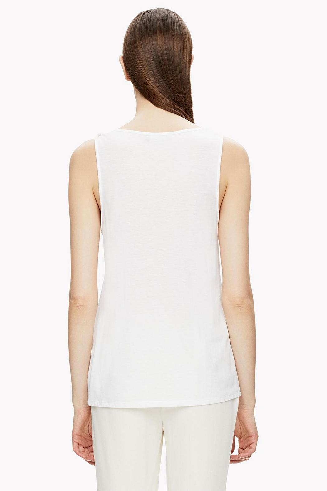 Theory Twisted Strap Tank Top - Front Full Image