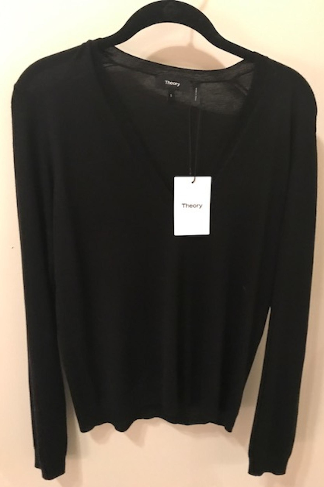 Theory V Neck Sweater - Main Image