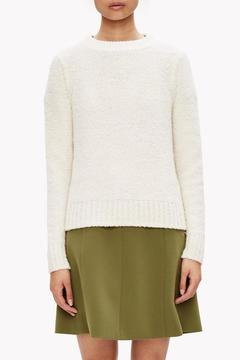 Theory White Wool Cashmere Sweater - Alternate List Image