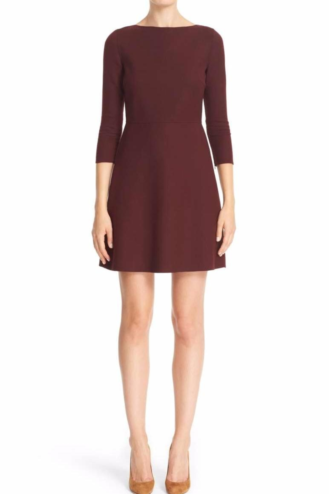 Theory Wine Colored Dress - Main Image