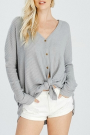 Wishlist Thermal Button-Down Sweater - Product Mini Image
