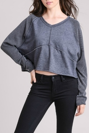 Le Lis Thermal Contrast Pullover - Front cropped