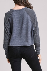 Le Lis Thermal Contrast Pullover - Front full body