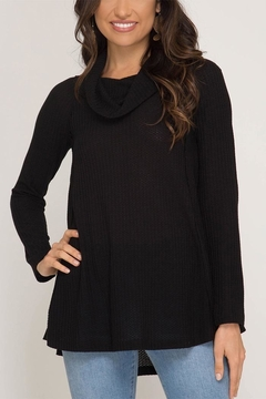 She + Sky Thermal Cowl Neck - Product List Image