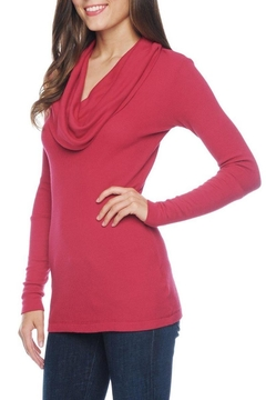 Splendid Thermal Cowl-Neck  Henley-Top - Product List Image