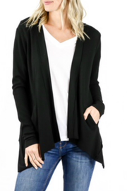 Six Fifty Thermal Drape Cardigan - Product Mini Image