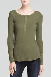 Splendid Thermal Henley Top - Product Mini Image