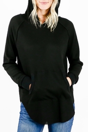 Six Fifty Thermal Hoodie Shirt - Front cropped