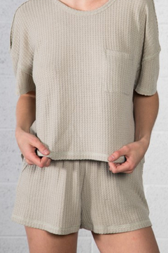 Very J  Thermal Knit Short - Product List Image