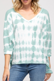 She and Sky Thermal Knit Tie-Dye - Product Mini Image