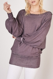 Mustard Seed  Thermal Knit Top - Product Mini Image