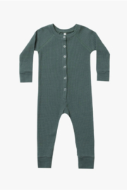 Rylee & Cru Thermal Longjohns In Spruce - Product Mini Image