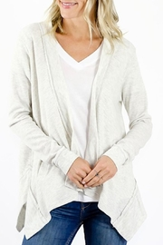 Six Fifty Thermal Open Cardigan - Product Mini Image