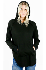 Six Fifty Thermal Shirt Tail Hoodie - Product Mini Image