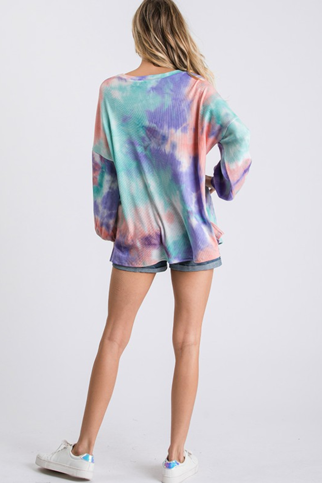 R+D Thermal Tie Dye - Back Cropped Image