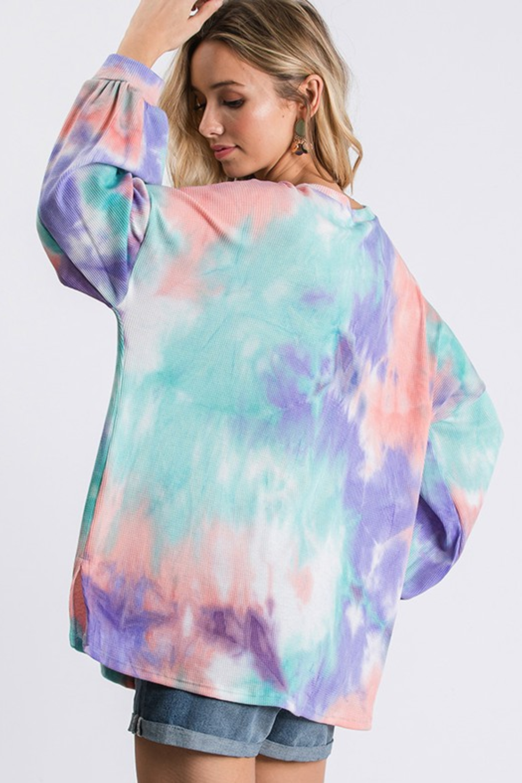 R+D Thermal Tie Dye - Front Full Image