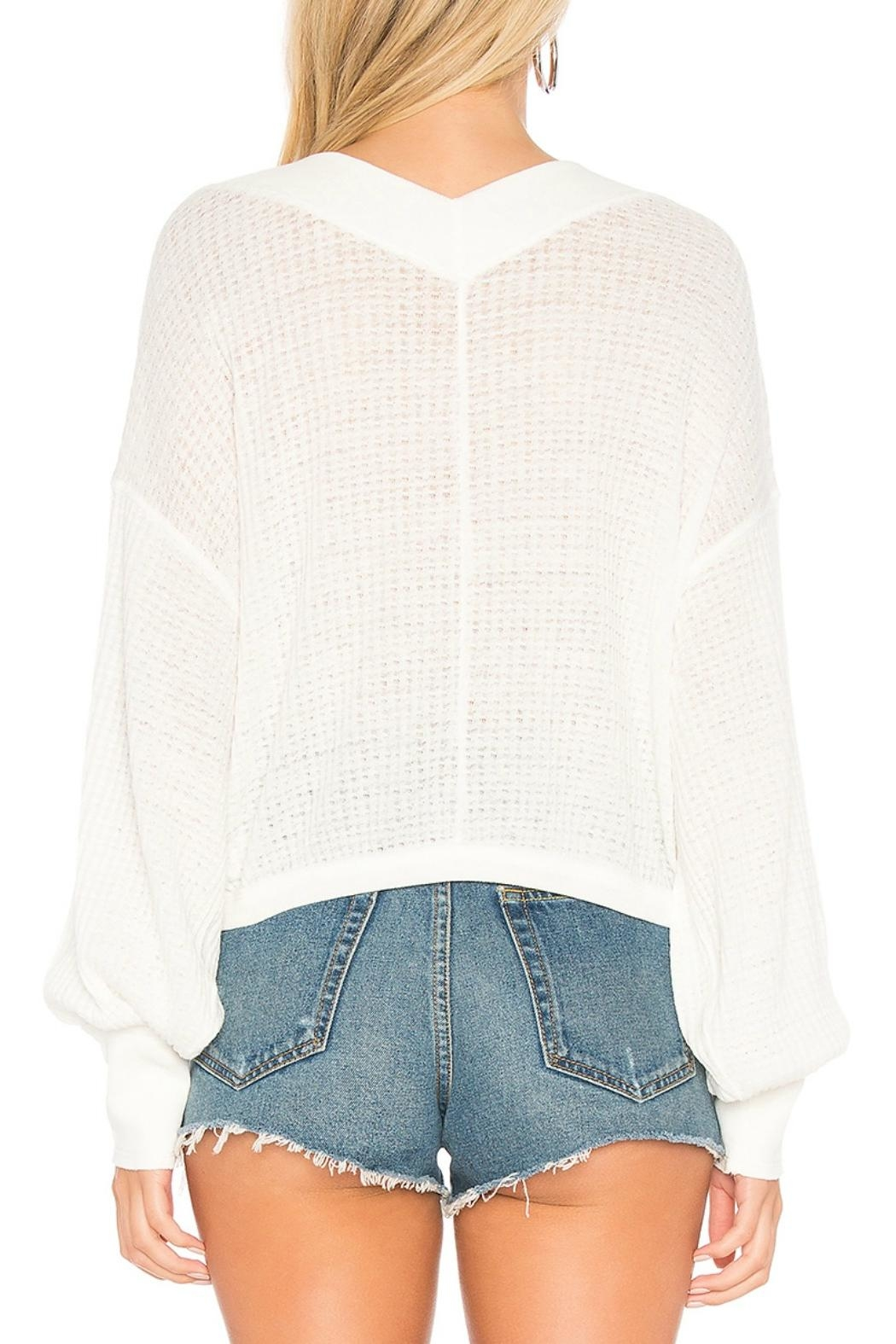 Free People Thermal Top - Front Full Image