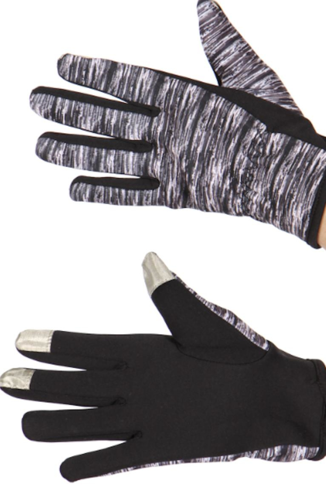 Thermalogic Thermal Running Gloves - Front Cropped Image