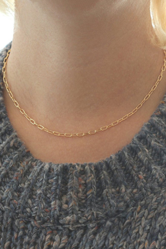 Kris Nations Thick Cable Chain Choker - Product List Image
