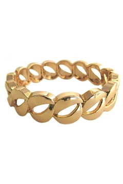 Malia Jewelry Thick-Links Golden Bracelet - Product List Image
