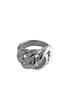 Malia Jewelry Thick Links Ring - Alternate List Image