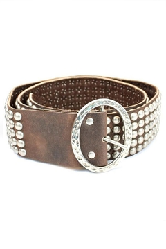 Leatherock Thick Studded Belt - Product List Image