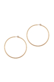 Riah Fashion Thick-Wire 60-Mm-Hoop Earrings - Product Mini Image