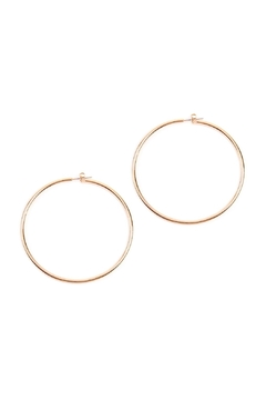Shoptiques Product: Thick-Wire 60-Mm-Hoop Earrings