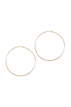 Shoptiques Product: Thick-Wire 80-Mm-Hoop Earrings