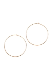 Riah Fashion Thick-Wire 80-Mm-Hoop Earrings - Product Mini Image