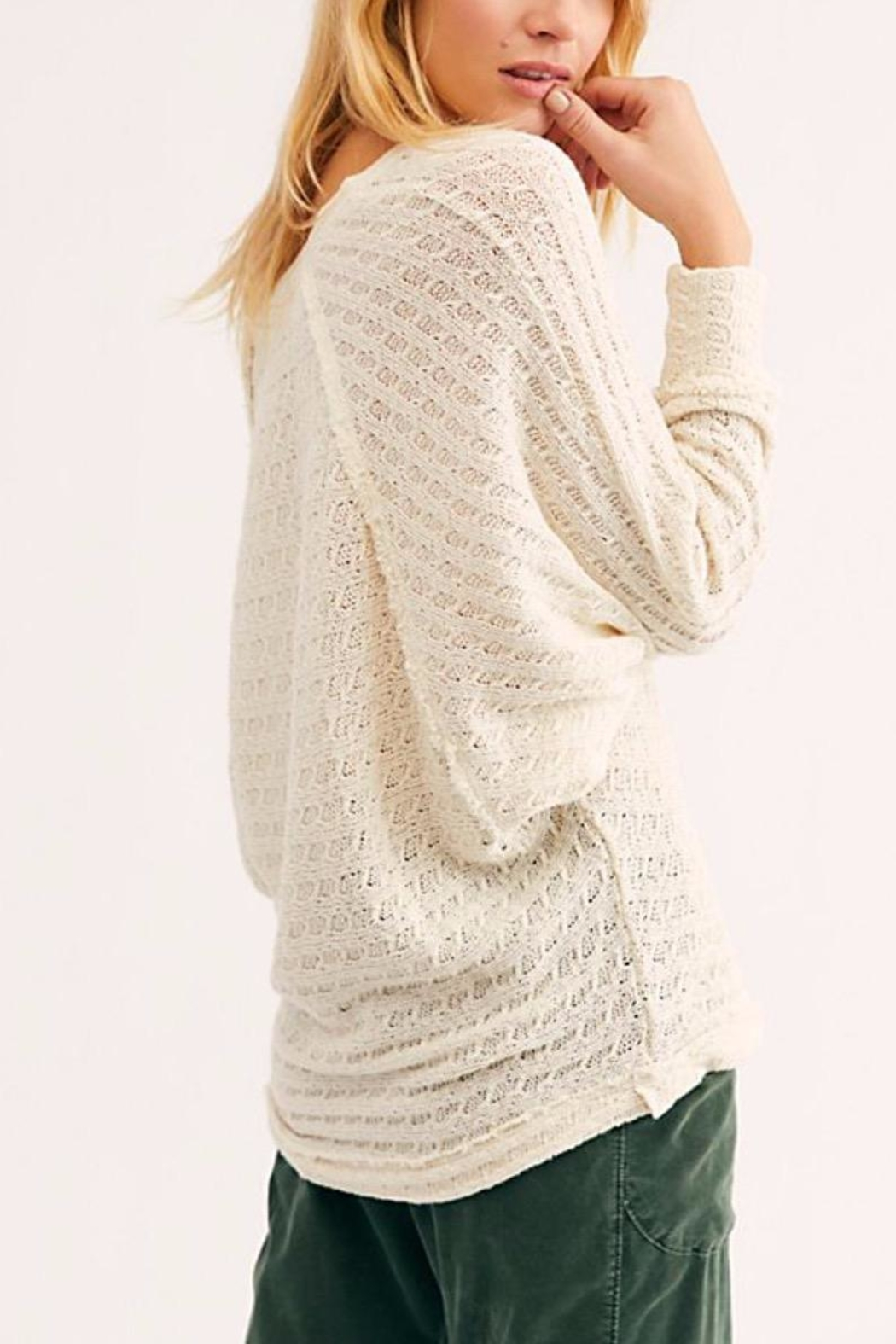 Free People Thien's Hacci Top - Front Full Image