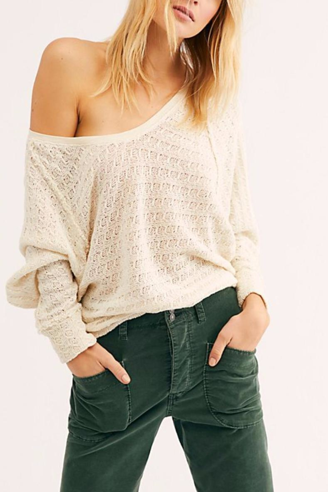 Free People Thien's Hacci Top - Main Image