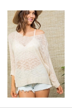Shoptiques Product: Thin Knit Sweater