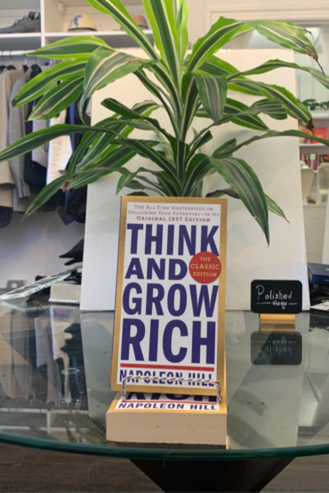 Napoleon Hill  Think and Grow Rich - Main Image