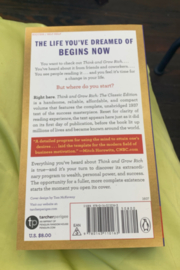 Napoleon Hill  Think and Grow Rich - Front full body
