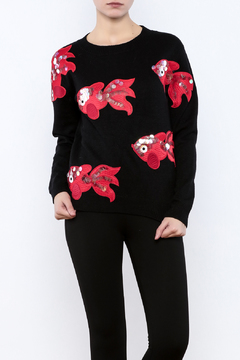 THINK CLOSET All the Fish in the sweater - Product List Image