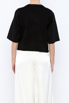 Shoptiques Product: Bejeweled Neck Sweater
