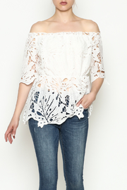 THINK CLOSET Breezy Lace Top - Product Mini Image