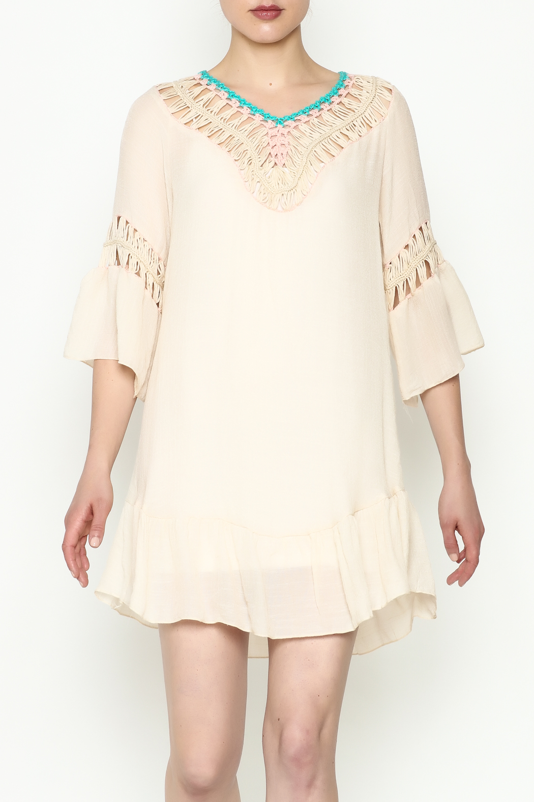 THINK CLOSET Cha Cha Tunic - Main Image
