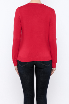 THINK CLOSET Cherry-POM sweater - Alternate List Image