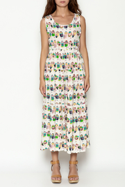 THINK CLOSET Colorful Owl Dress - Front full body