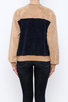 THINK CLOSET Cozy Patched Sweater - Alternate List Image
