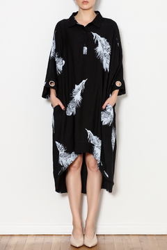 Shoptiques Product: Delicate Feather Tunic