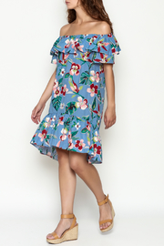 THINK CLOSET Flirty floral dress - Front cropped
