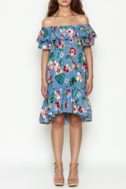 THINK CLOSET Flirty floral dress - Front full body